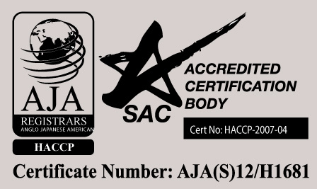 HACCP : AJA(S12/H1681